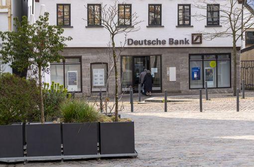 Deutsche Bank behauptet sich im Südwesten