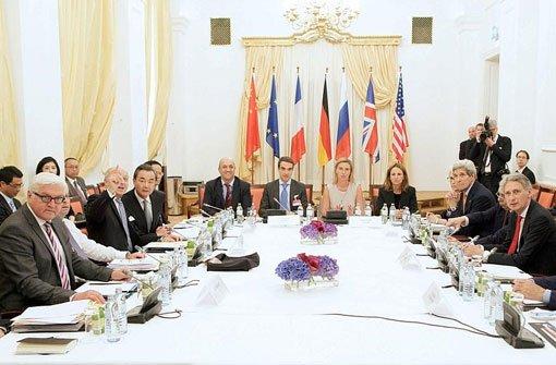 Gespräche mit dem Iran gehen weiter