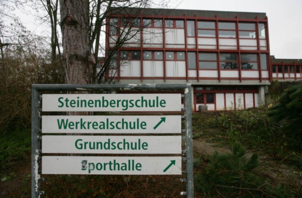 Die Zukunft der Steinenbergschule ist ungewiss. Foto: Zweygarth
