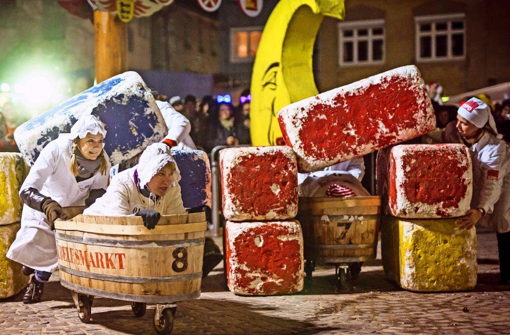 Wieder ein anspruchsvoller Kurs: Kübelesrennen in Bad Cannstatt Foto: Lichtgut/Piechowski/Schmidt