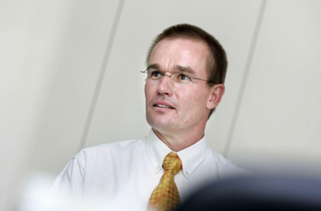 Der Göppinger Baubürgermeister Olav Brinker kämpft um sein Amt. Foto: Rudel