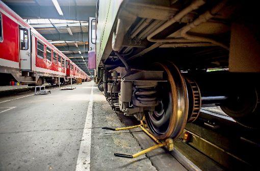 Akkordarbeit gegen Zugausfälle