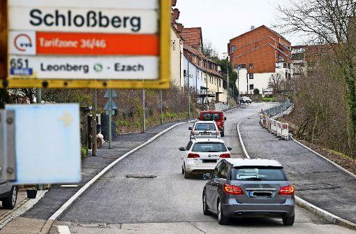 Eine fürstliche     Straße  am Schlossberg
