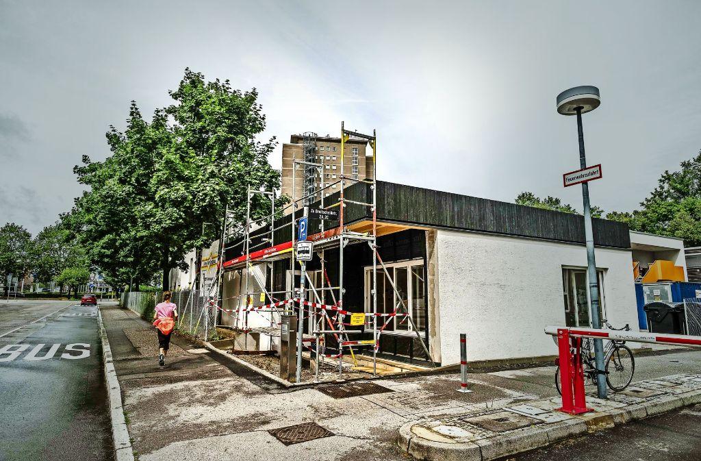 Etwa 150000 Euro  hat der Pavillon gekostet, finanziert durch Spenden. Foto: Lichtgut/Leif Piechowski