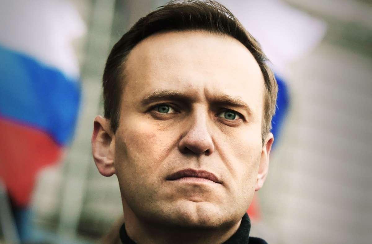 Kreml-Kritiker: Alexej Nawalny (Archivbild) Foto: dpa/Pavel Golovkin