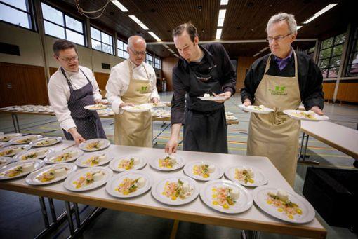 Kochduell zur Gartenschau: Hebsack schlägt Waiblingen