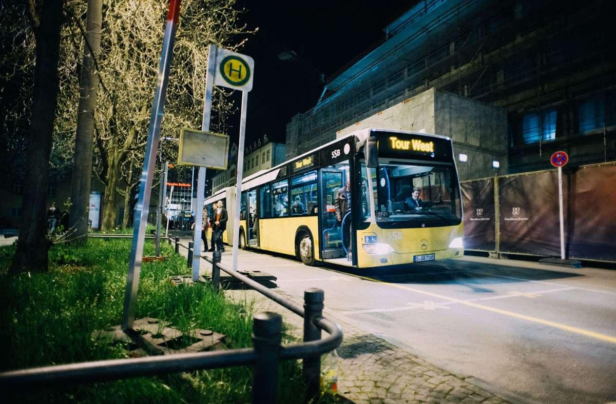 Ab dem 1. Juli bringen die Nachtbusse der SSB wieder Fahrgäste  nach Hause (Archivbild). Foto: 7aktuell.de//Florian Gerlach