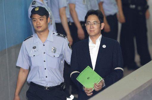 Samsung-Erbe Lee droht Gefängnisstrafe