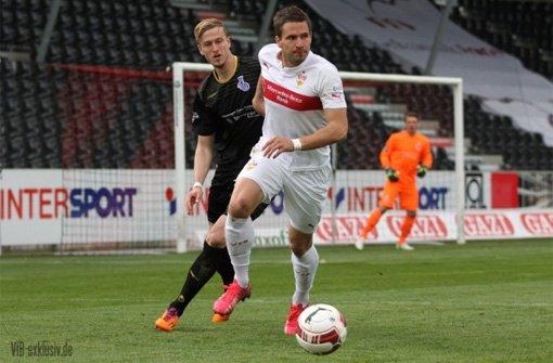 VfB-Stürmer Grüttner im FuPa-Interview
