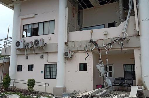 Mindestens ein Toter bei Erdbeben