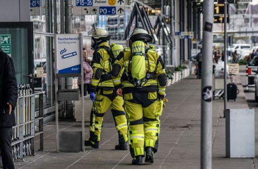 Gasalarm am Flughafen hat kuriose Ursache