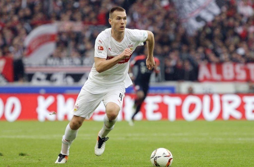 Toni Sunjic wird den VfB Stuttgart aller Voraussicht nach verlassen. Foto: Pressefoto Baumann