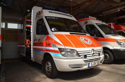 Weitere Spende für  Rettungswagen