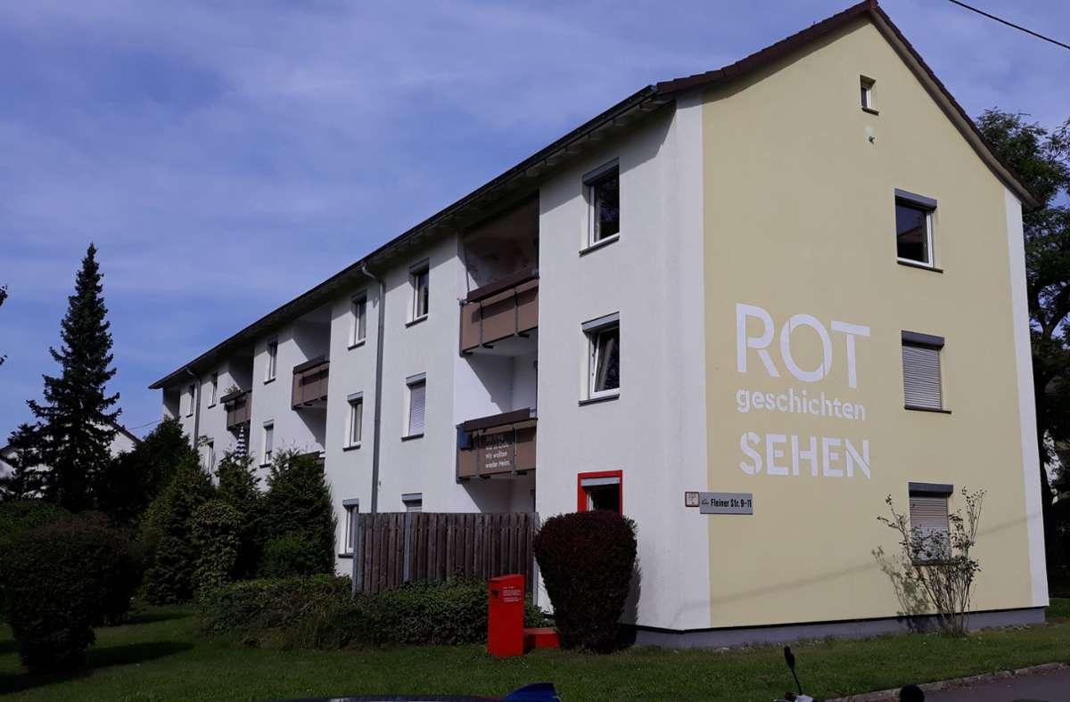 """Im Jahr 2023 sollen die Gebäude des Quartiers """"Am Rotweg"""" abgerissen und durch Neubauten ersetzt werden. Foto: /Bernd Zeyer"""