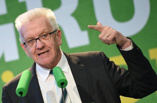 Kretschmann wirbt für grün-schwarzen Koalitionsvertrag