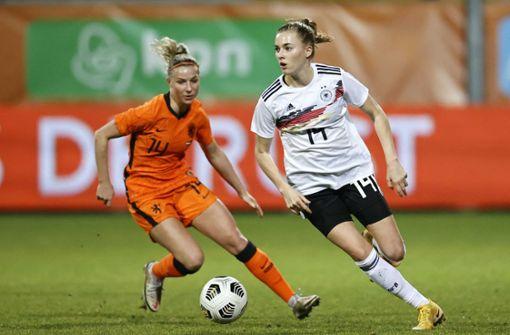 Mädchen können alles, auch Fußball