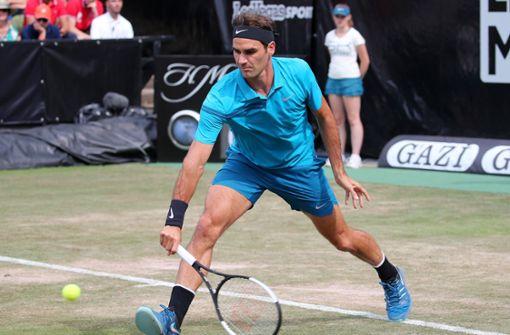 Tennis-Star Federer Roger im steht im Endspiel