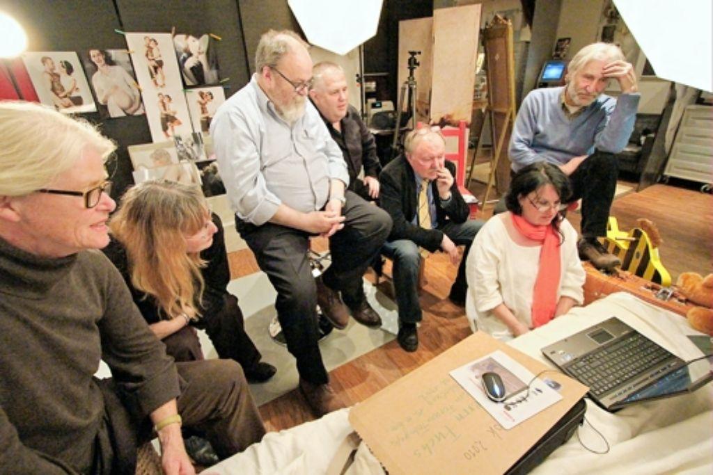 Bei den Treffen wird über die Arbeiten der Kollegen gefachsimpelt. Foto: z