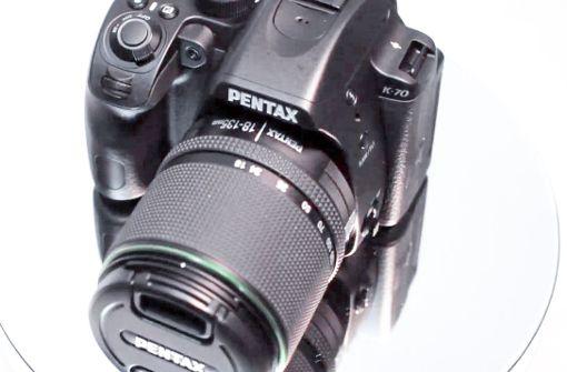 Pentax K70 - Videoansicht