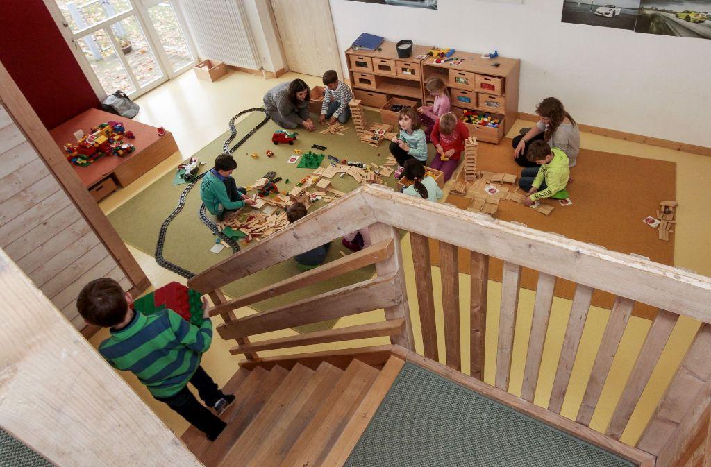 Das Kindertagheim wird zur Zeit noch von Schulkindern und Kindergartenkindern gemeinsam besucht. Foto: factum/Bach