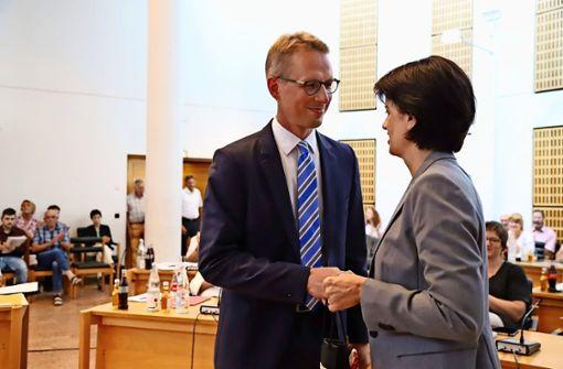 Johannes Berner ist neuer Erster Bürgermeister