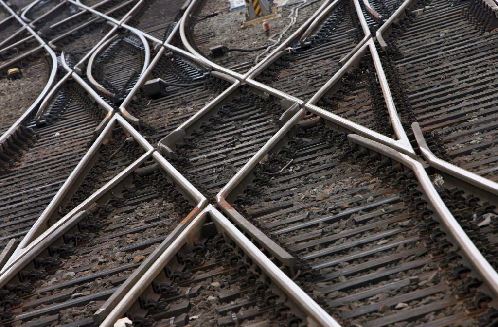 Bei der Deutschen Bahn werden die Weichen neu gestellt. Foto: dpa