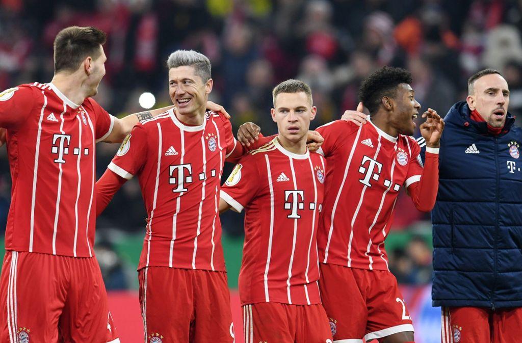 Der FC Bayern München trifft im Viertelfinale des DFB-Pokals auf den SC Paderborn. Foto: dpa