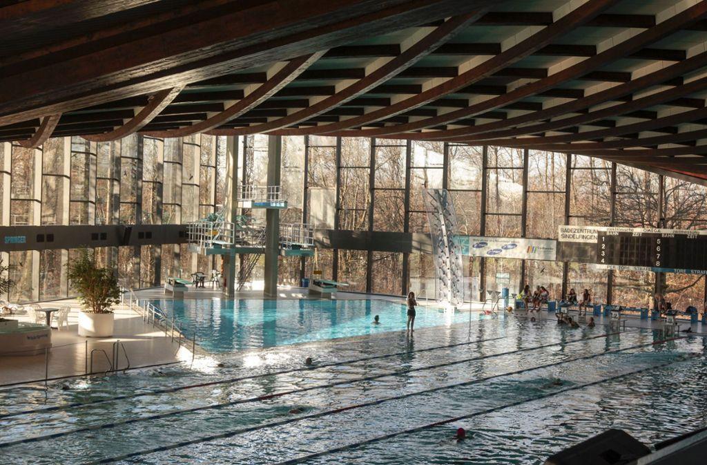 Das Bad in Sindelfingen ist in die Jahre gekommen. Vor allem    die Technik und   die Heizung sind zu erneuern. Foto: factum/Granville