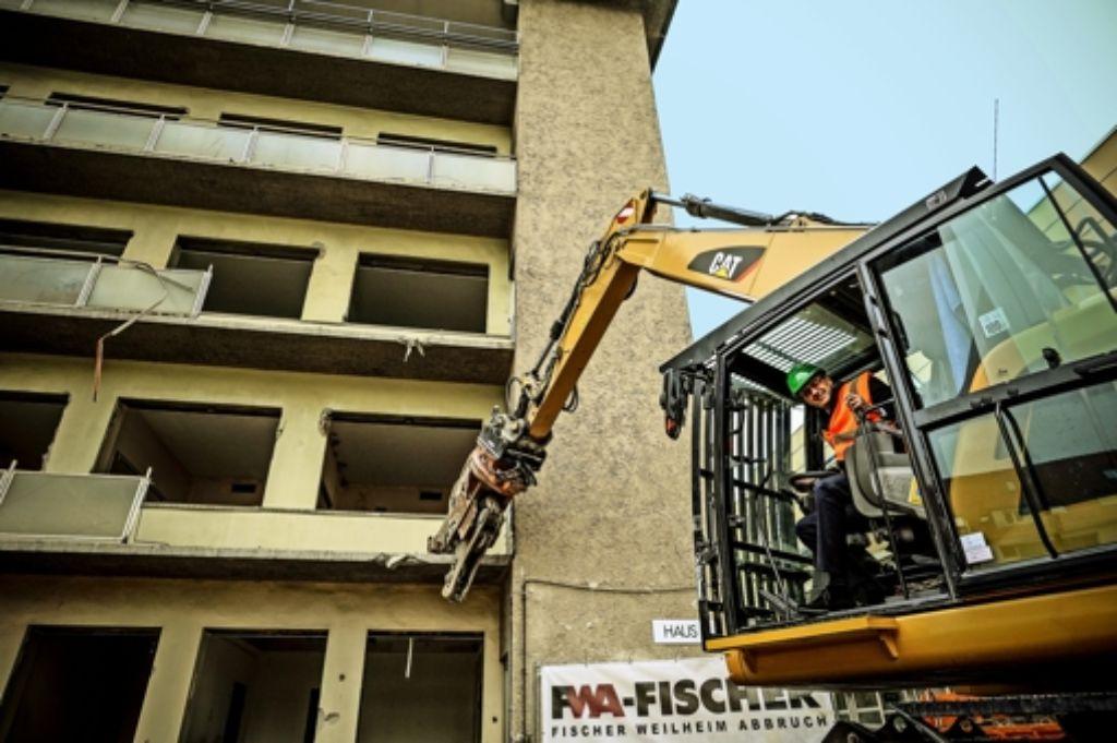 Das Olgäle muss für 220 neue Wohnungen weichen. Foto: Lichtgut/Leif Piechowski