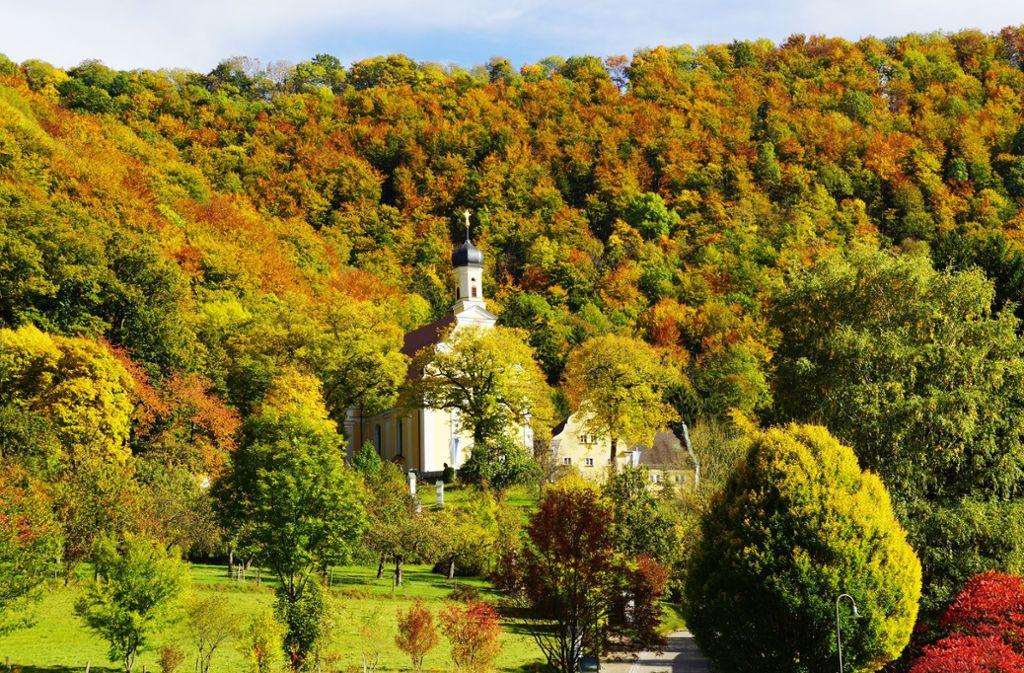 Die Wallfahrtskirche  ist nur einer der Höhepunkte am Ave-Weg. Foto: Landratsamt