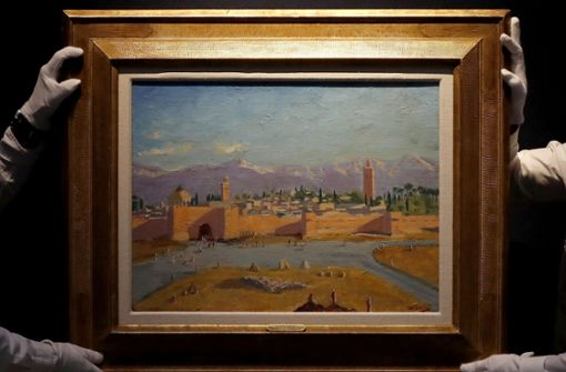Churchill-Gemälde erzielt 9,5 Millionen Euro