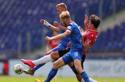 1. FC Heidenheim bekommt Dämpfer im Aufstiegsrennen