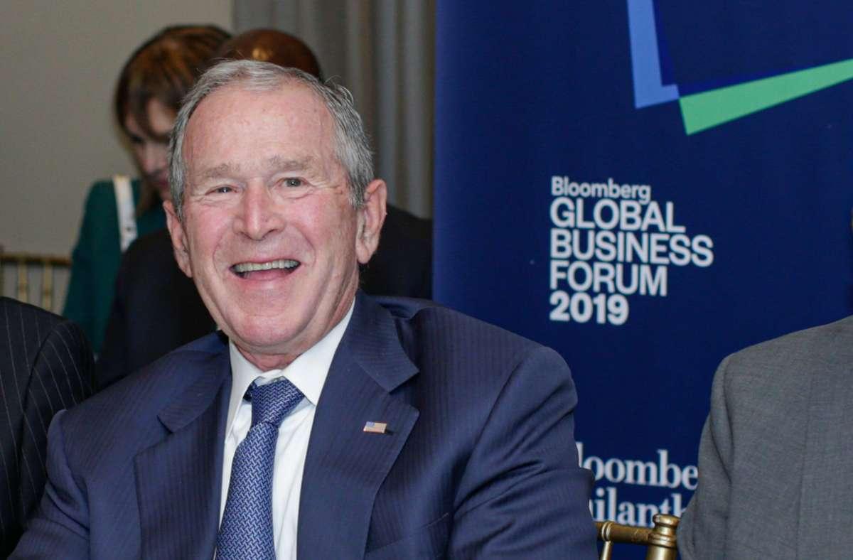Der ehemalige US-Präsident George W. Bush Foto: AFP/KENA BETANCUR