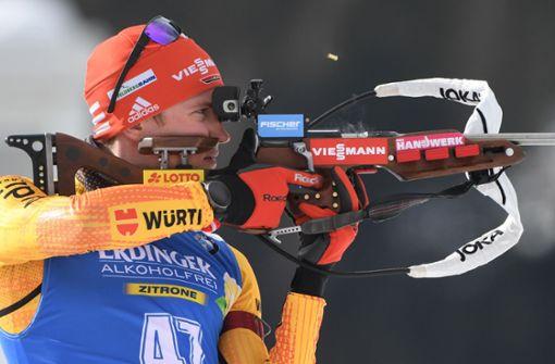 Die deutschen Biathleten müssen in die Strafrunde