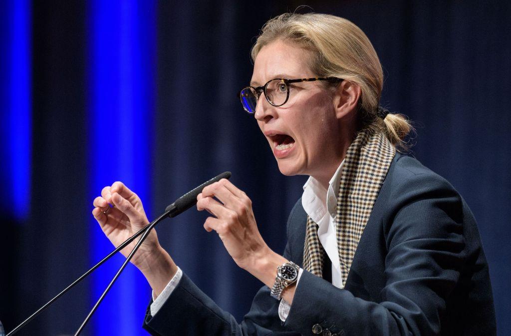 Alice Weidel, Spitzenkandidatin der AfD, hat einen TV-Auftritt beim ZDF abgesagt. Foto: Getty Images Europe
