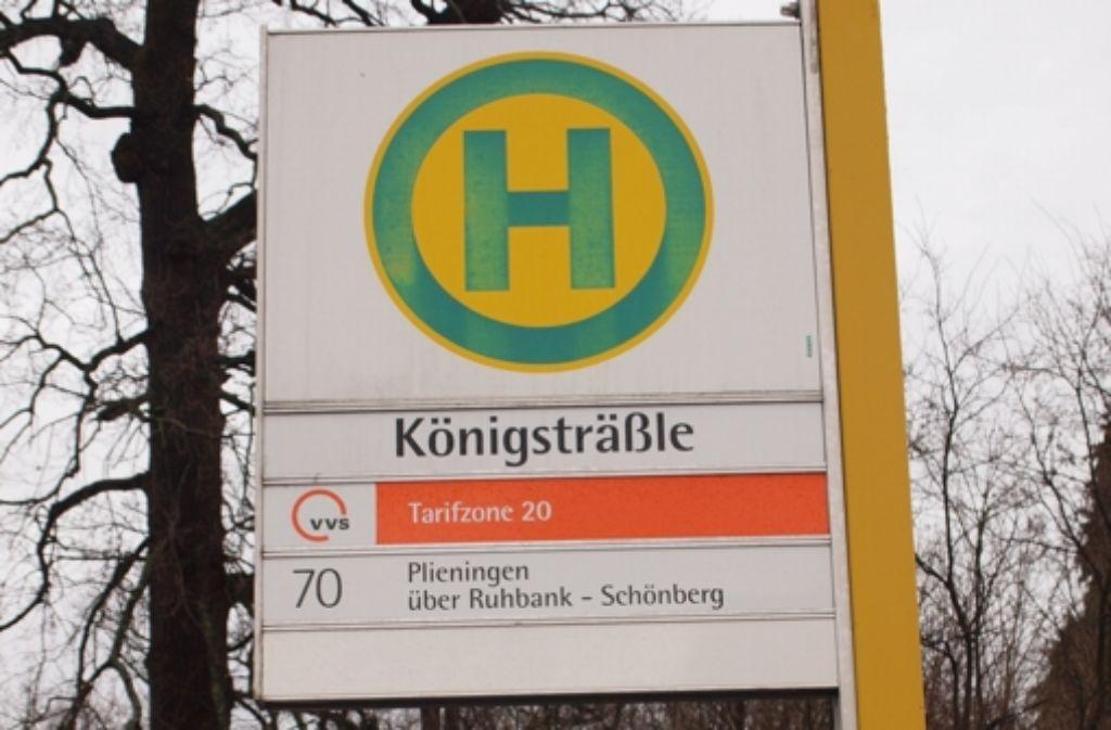 Das Königsträßle ist die einzige direkte Verbindung zwischen Schönberg und Degerloch. Foto: Cedric Rehman