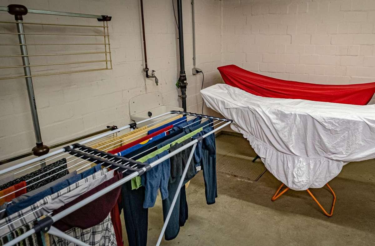 Anwohner fanden in einer Waschküche im Stuttgarter Osten ein Drogenversteck. (Symbolbild) Foto: imago /Jürgen Ritter