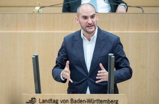 Danyal Bayaz verteidigt Haushaltsentwurf