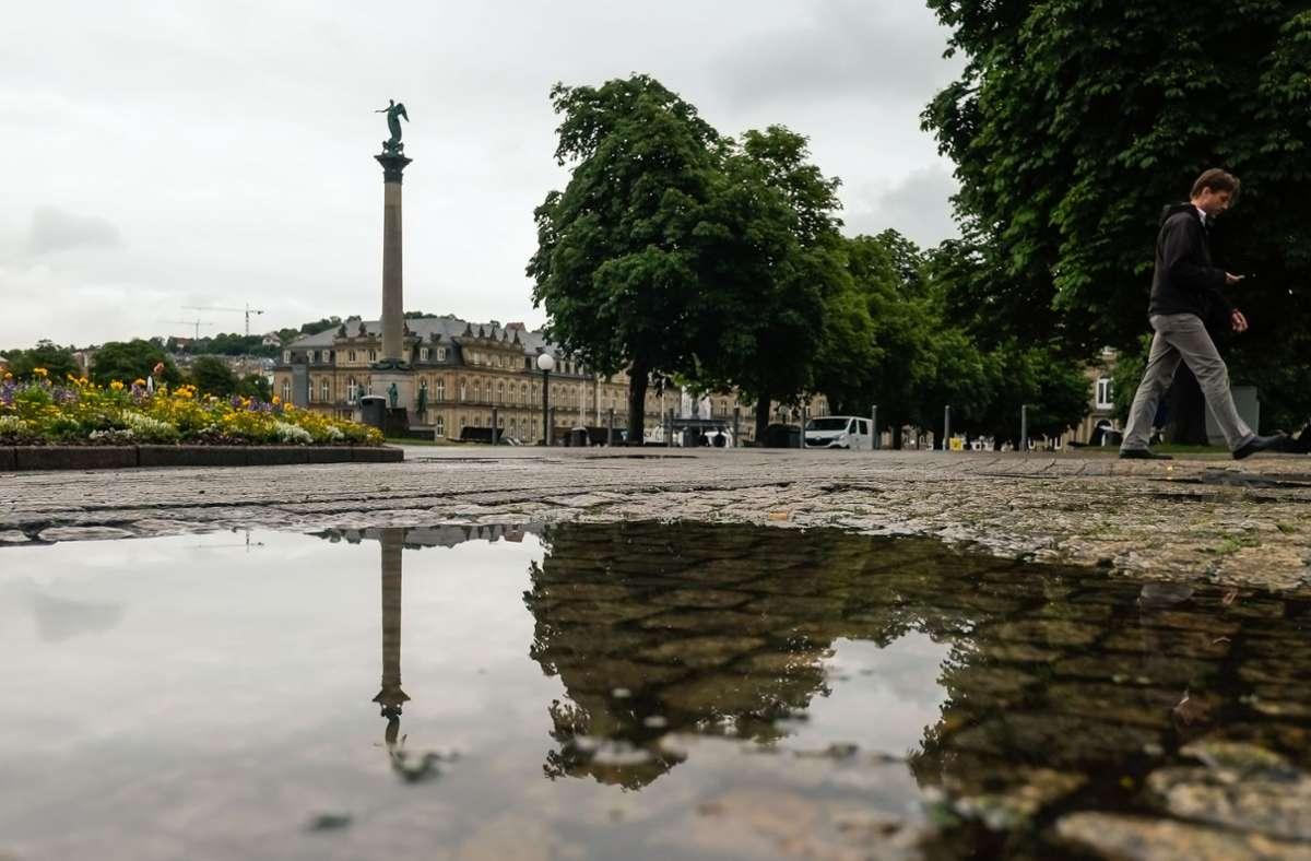 Auch zum Wochenbeginn wird in der Region starker Regen und Gewitter erwartet. Foto: Max Kovalenko