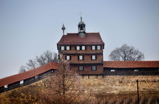 Keine Autos  im Esslinger Burgberg