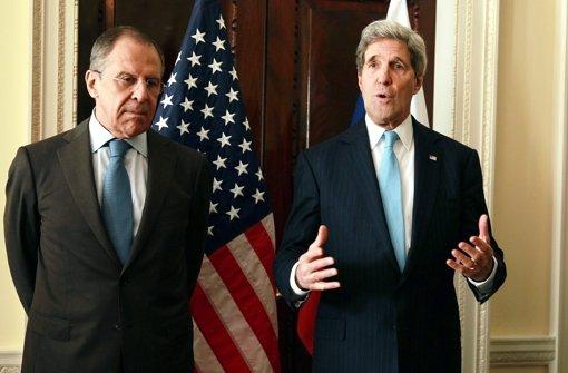 USA drohen mit neuen Sanktionen