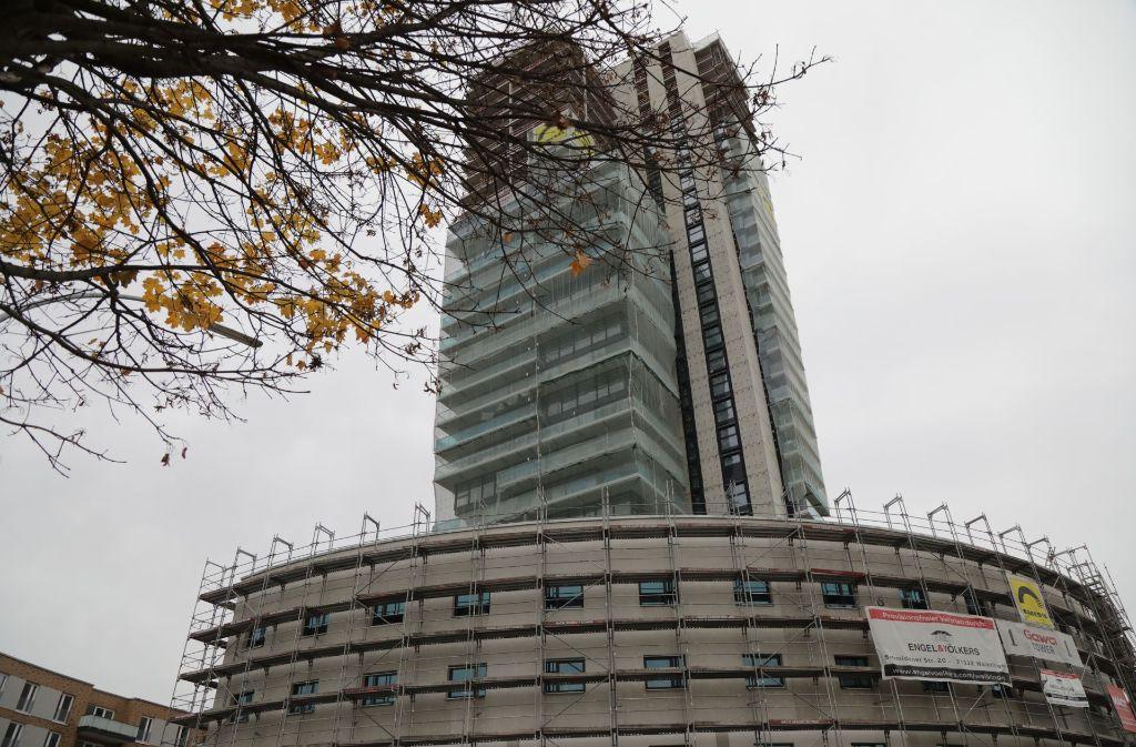 Der Gewa-Tower in Fellbach. Foto: Patricia Sigerist