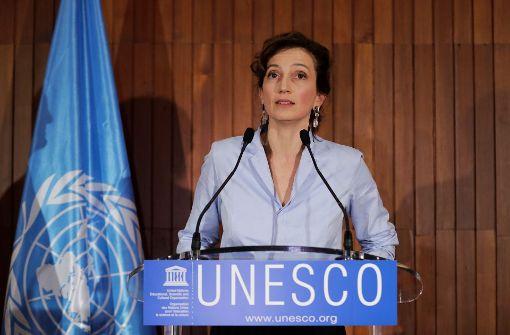 Französin Audrey Azoulay zur Chefin gewählt