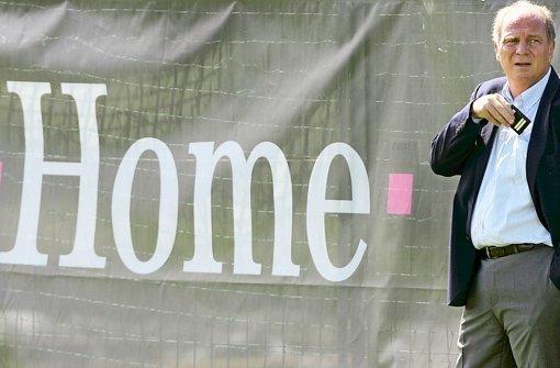 Beim FC Bayern wird fest mit der Rückkehr von Uli Hoeneß gerechnet Foto: dpa