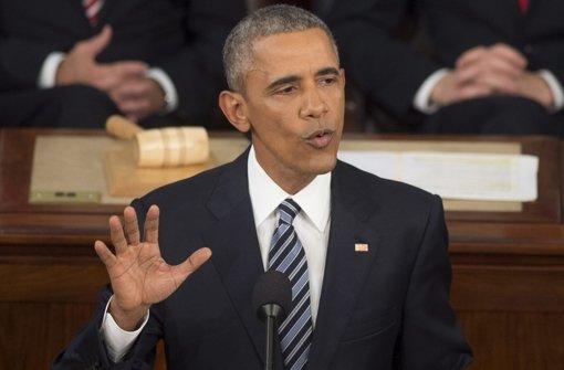 Obama macht Amerikanern Mut für die Zukunft