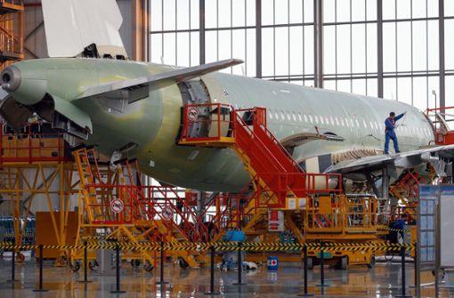 Flugzeugproduktion wird aufgestockt