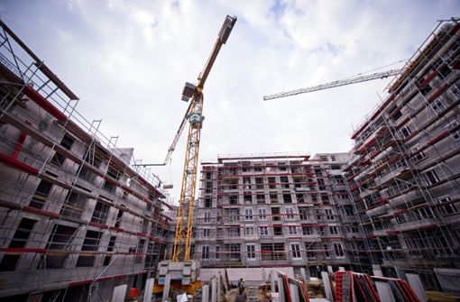 Baupreise ziehen an