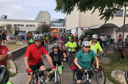 Rund 1000 Teilnehmer radeln bei der Tour de Natur mit