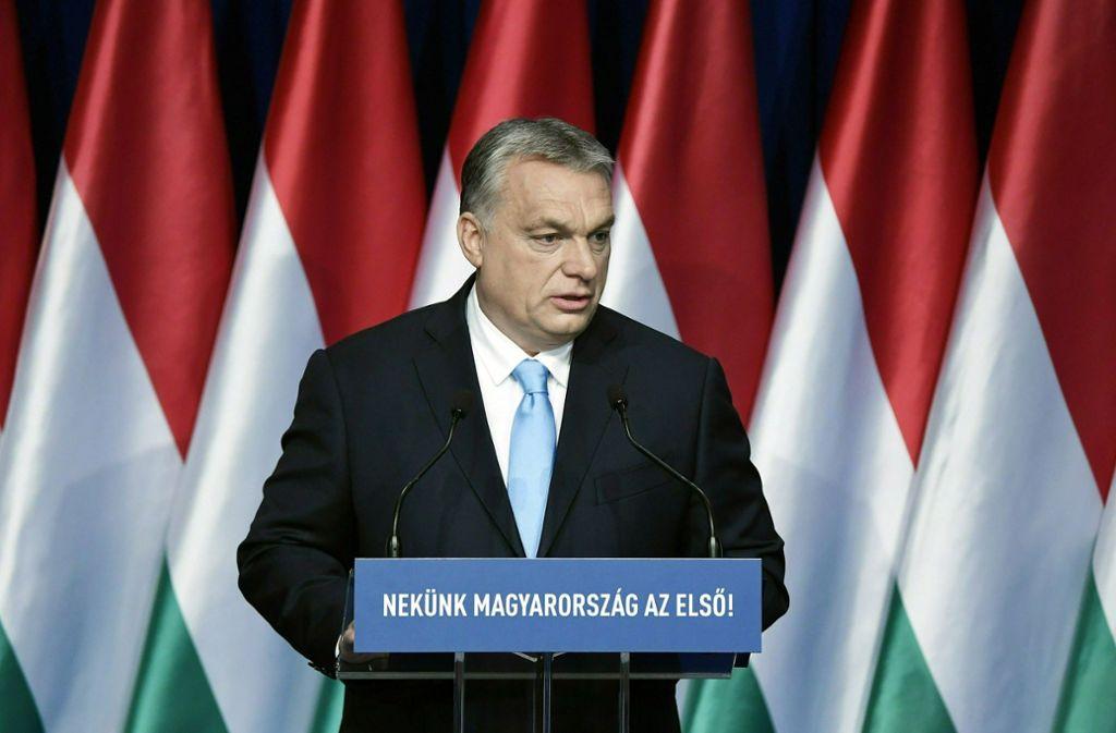 Ungarns Ministerpräsident Viktor Orban könnte sich etwas verschätzt haben. Foto: MTI