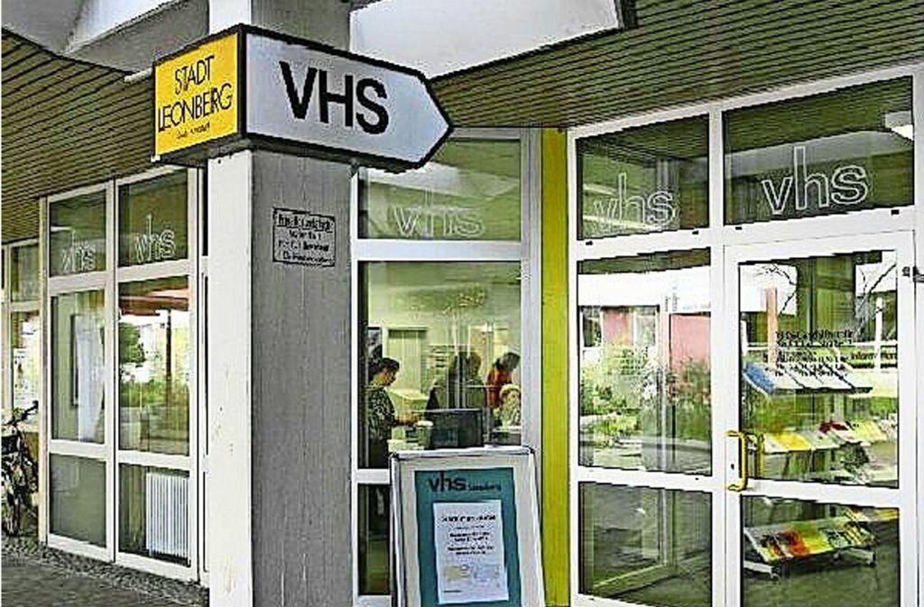 Die VHS startet nach Pfingsten mit einem kleinen Angebot. Foto: Stadt Leonberg